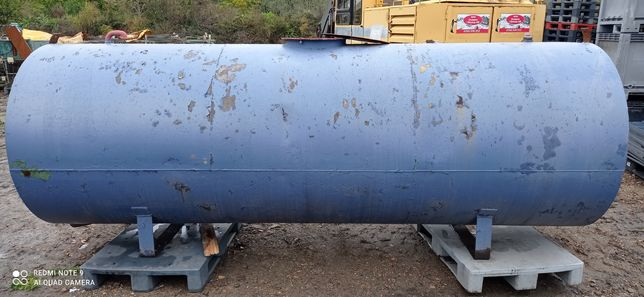 Zbiornik stalowy 5000 litrów.