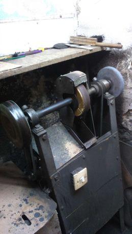 Maszyna, szlifierka dla szewca
