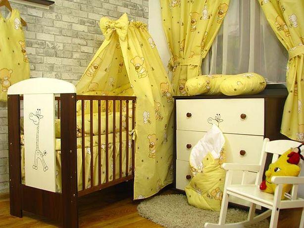 Nowy baldachim do łóżeczka dziecięcego/ różne wzory