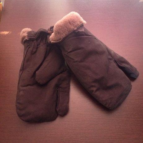 рукавиці хутряні