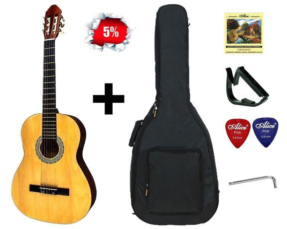 Классическая гитара Almira CG-1702 NT (Набор гитариста) Скидка -11%