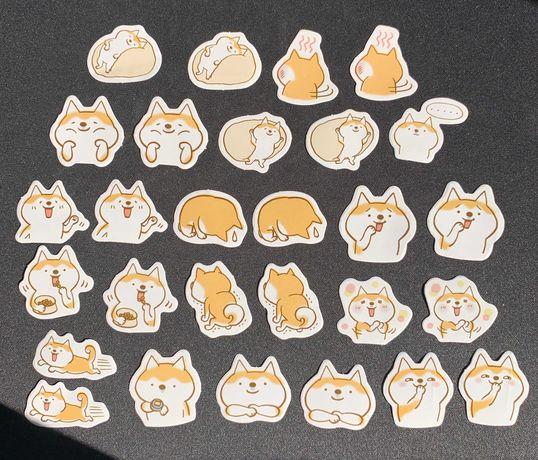 Fox Stickers Pack (28 autocolantes)