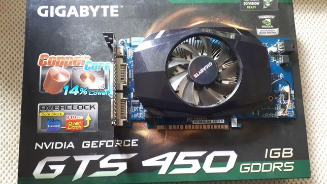 Видеокарта Gagabyte GeForce GTS 450 1Gb