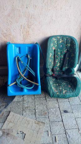 Huśtawka i fotelik