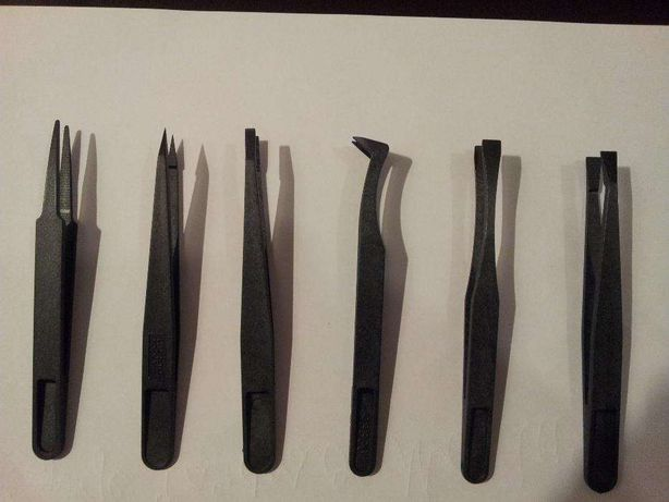 Conjunto de pinças anti-estáticas