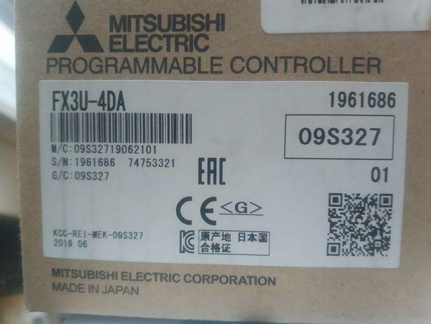 Mitsubishi Melsec FX3U-4DA plc программируемый контроллер