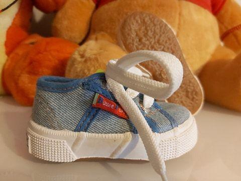 Sapatilhas bebé, n.º 18 - NOVAS