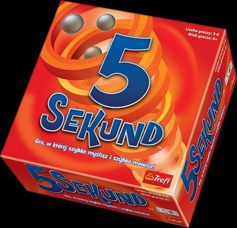 Gra 5 Sekund NOWA jako prezent komunijny lub na Dzień Dziecka