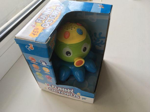 Звуковая игрушка «осьминог»