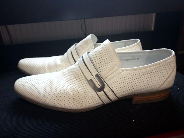 чоловічі шкіряні туфлі Alex bell