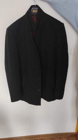 Męski płaszcz, świetnej jakości, produkt Polski, Kerdo, rozmiar L