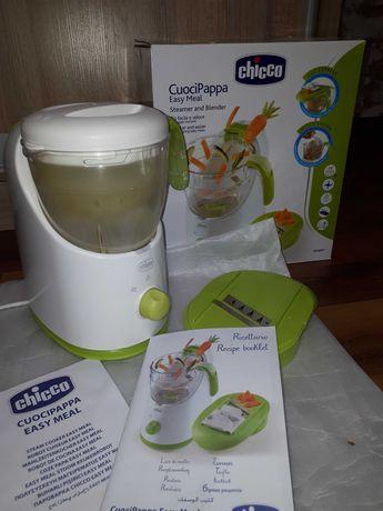 Пароварка блендер Chicco Easy meal