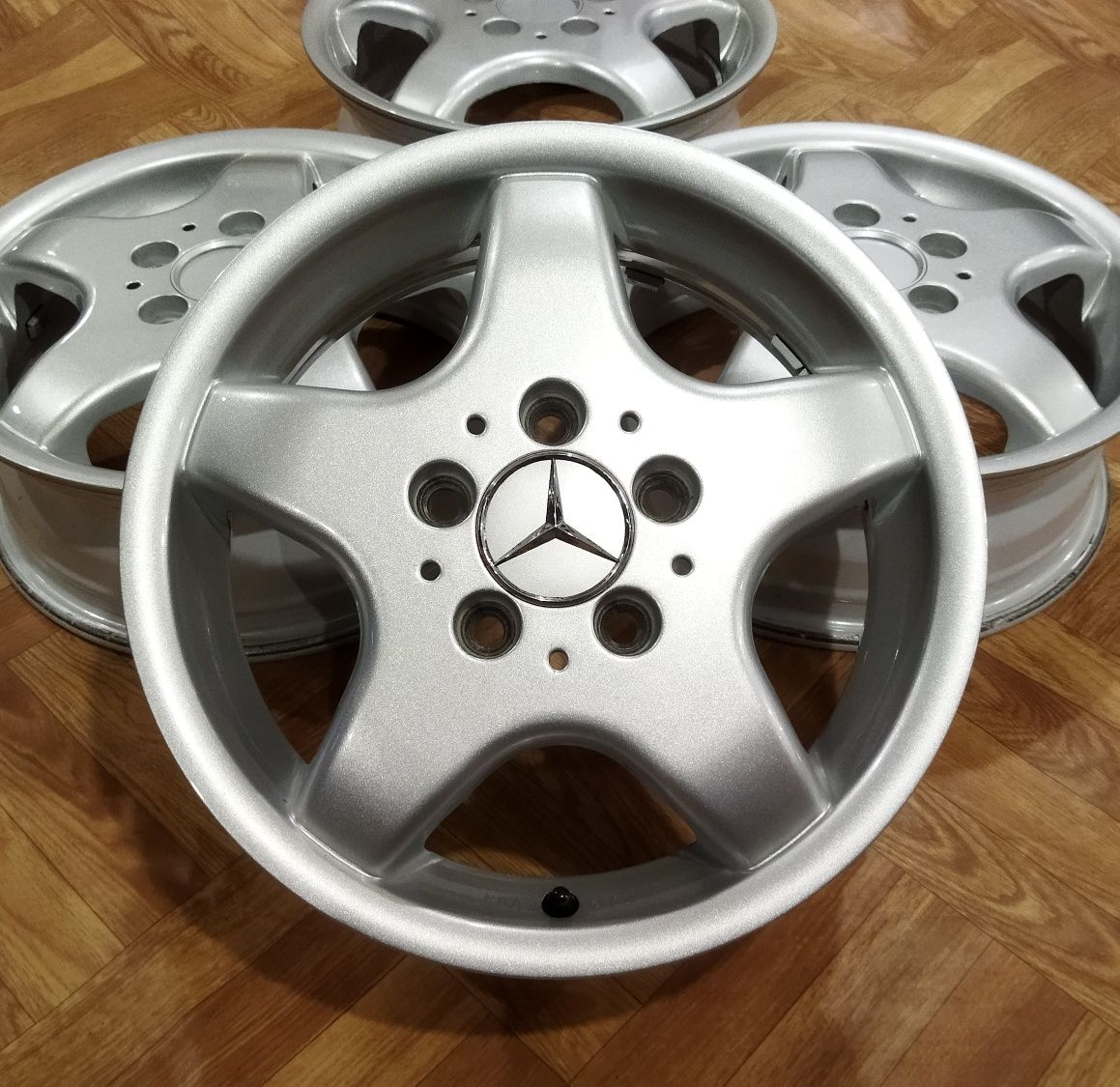 Литые диски Mercedes VW Skoda R15 5×112 5.5J ET54 ц.о.66.6