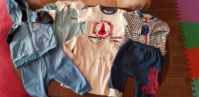 Одежда на мальчика 6-9 мес. (Осень, зима, весна)