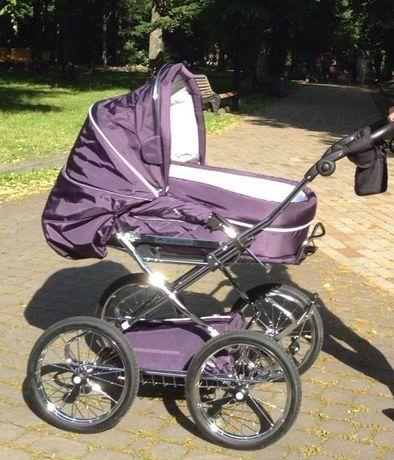 Индивидуальный заказ шикарная коляска Hesba Condor Coupe