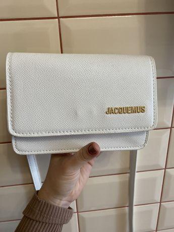 Поясная сумка Jacquemus Белая