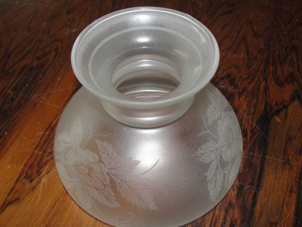Abajur em vidro cinzelado