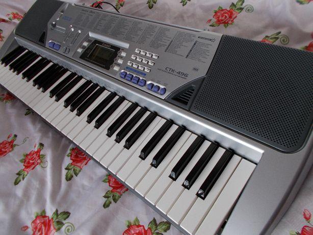 CASIO CTK-496 MIDI organy keyboard pełnowymiarowe