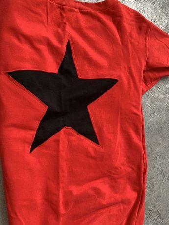 Bluza O la La, tunika, sukienka, czerwona, rozm 1