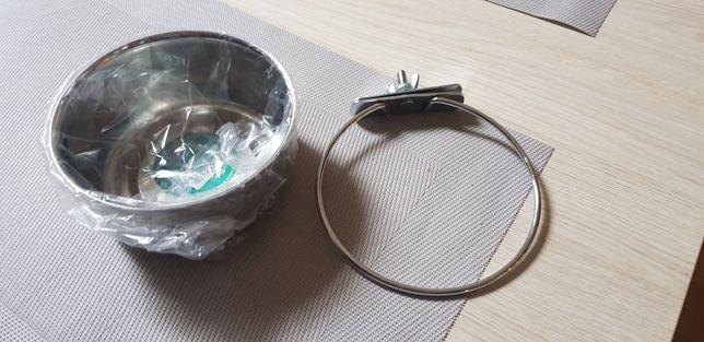 Miska dla ptaka przykrecana do klatki duza 0.56 L pojemnik papugi