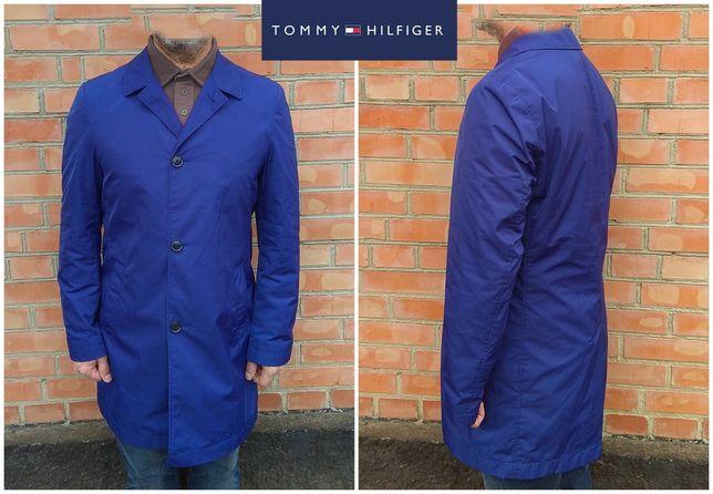 tommy hilfiger плащ синий куртка L оригинал - идеал hugo boss
