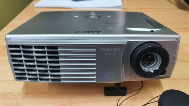 Projektor Toshiba TDP-P9 - jeden z najmniejszych