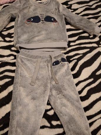 2 bluzy i spodnie roz. 80