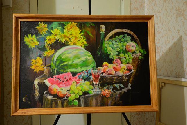 Картина маслом, живопись, картина на полотні, живопис , натюрморт