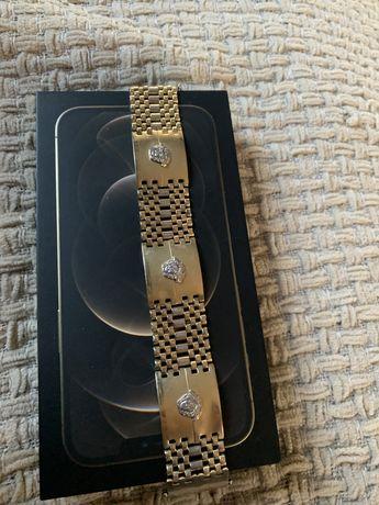 Zlota Bransoletka Versace 5.85 49GR