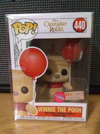 #440 Winnie the Pooh Flocked Kubuś Puchatek Funko POP
