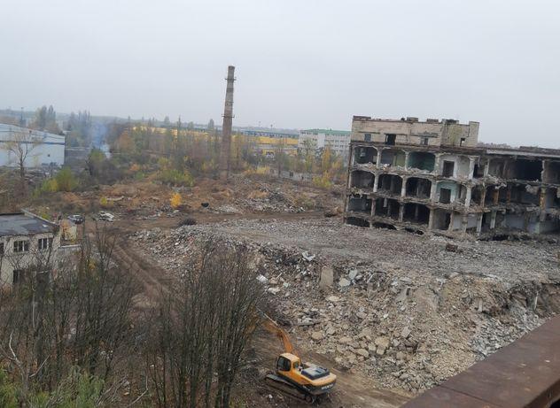 Демонтаж любых сооружений и зданий