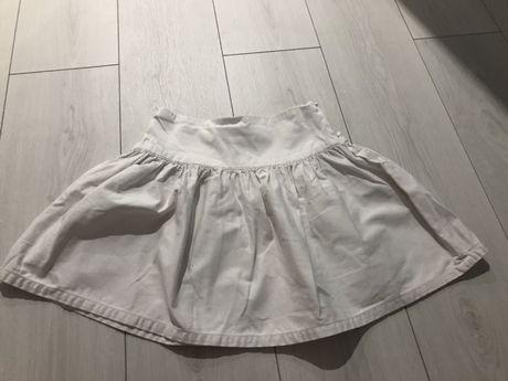 Oryginalna biała spódniczka dziewczęca firmy Ralph Lauren biała