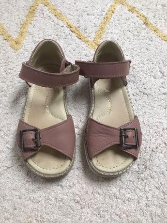 Skórzane sandały Mrugała rozmiar 28