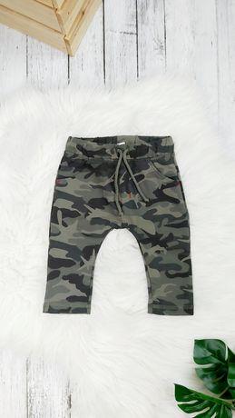 NOWE Spodnie moro 62-98