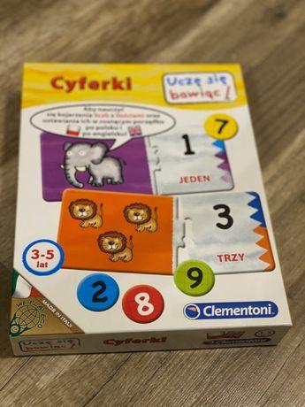 gra dla dzieci cyferki
