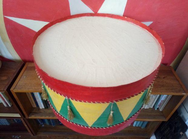Барабан - декор ,большой 52см( папье маше)