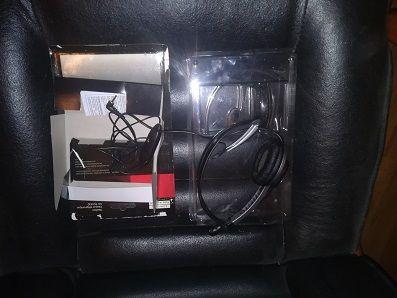 wielka okazja słuchawki z mikrofonem Panasonic nowe nieużywwane !!