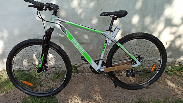 "Велосипед ROVER X70 AIR 27,5"" 18"" white-green 2021"