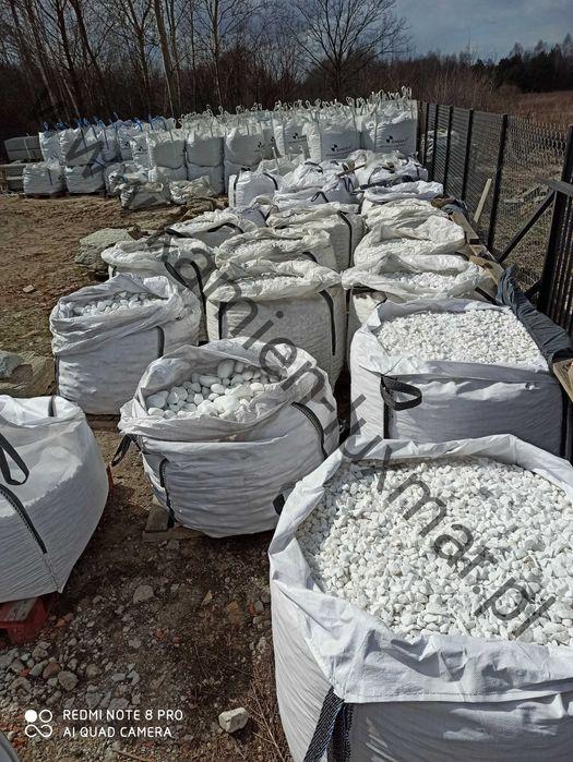 Otoczak THASOS biały / Grecki Kamień ogrodowy /w big-bag/TONA Tłuszcz - image 1