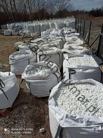Otoczak THASOS biały / Grecki Kamień ogrodowy /w big-bag/TONA