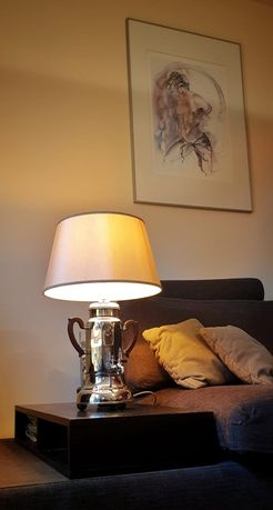 "Lampa Menesa Cafe, stołowa, dekoracyjna, vintage, loft, ""lampadeluz"""