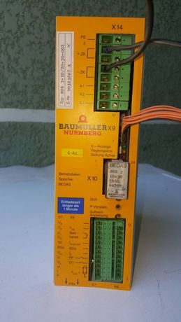 BAUMULLER X9 шина сервоконтрольлера переменного тока