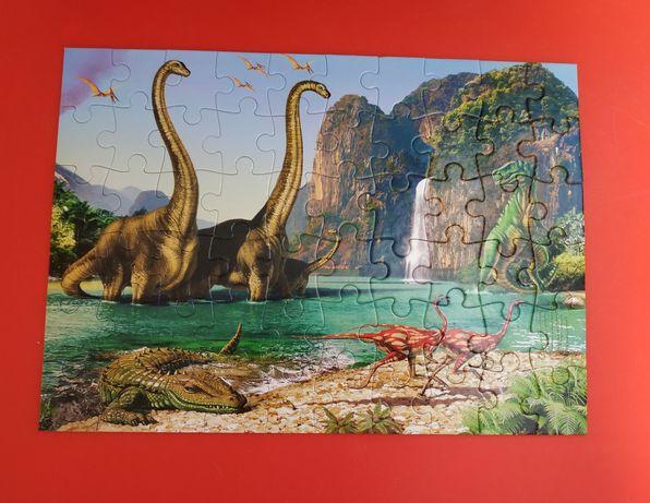 Castorland puzzle Пазлы,пазл, динозавры, динозавр
