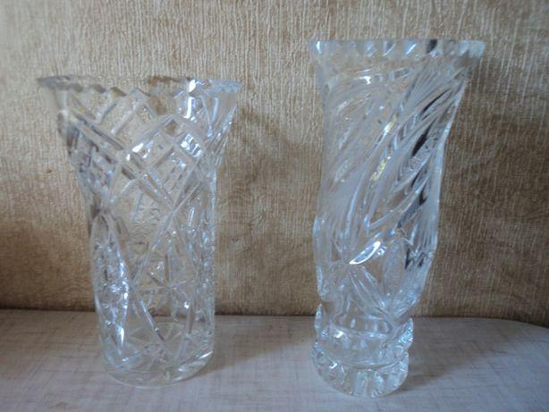 Продам вазы хрустальные
