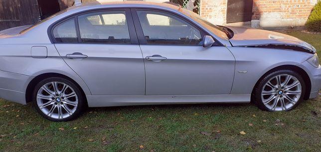 BMW e90 drzwi prawy tył titanisilber 354
