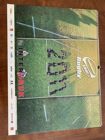 stary kalendarz Rugby 2011