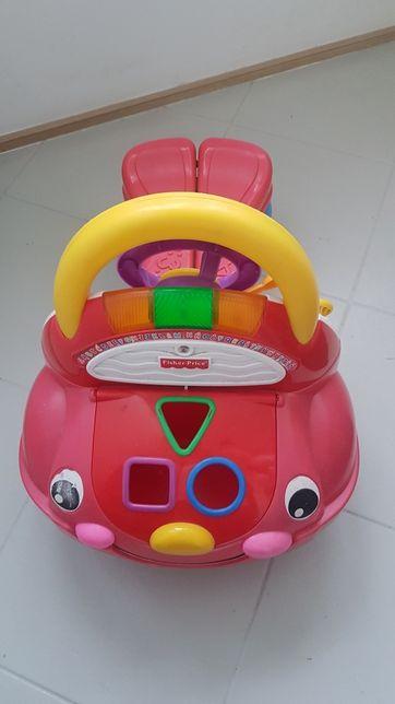 Fisher Price jeździk auto