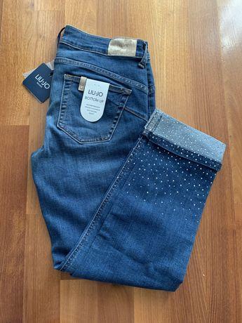 Liu Jo jeansy z cyrkoniami w27 (s)