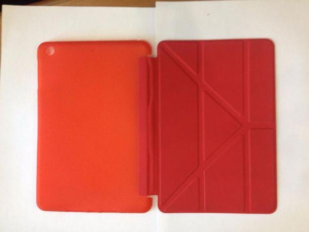 Красный чехол для iPad mini 1/2/3 Smart case