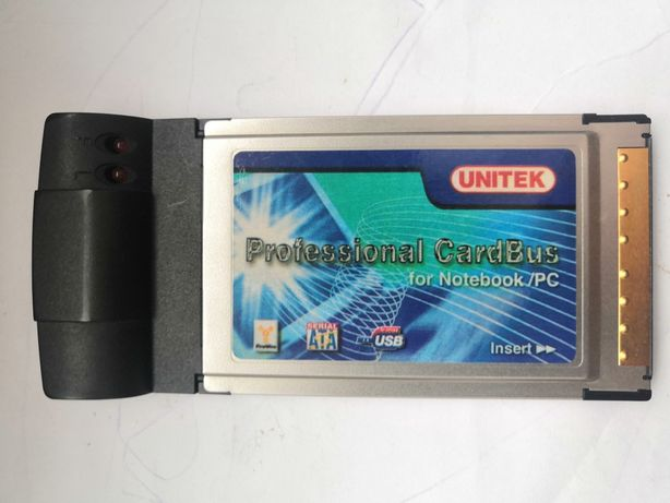 Karta pcmcia Ethernet LAN RJ45 Unitek Professional